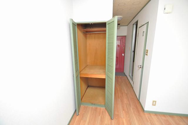 スペラーレ今里 もちろん収納スペースも確保。いたれりつくせりのお部屋です。
