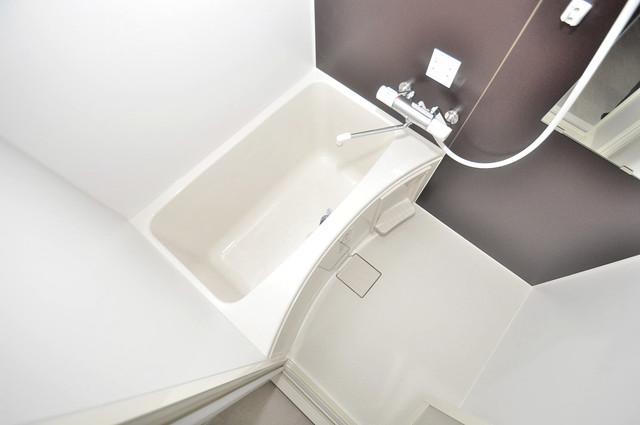 ヴェルドミール小阪 ちょうどいいサイズのお風呂です。お掃除も楽にできますよ。