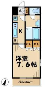 エスポアール1階Fの間取り画像