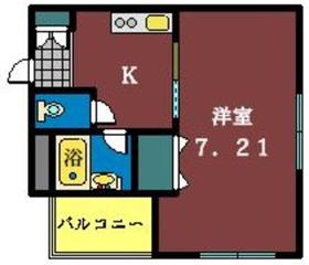 メゾンダジュール12番館2階Fの間取り画像