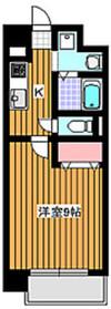 ヴァンテミサ1階Fの間取り画像
