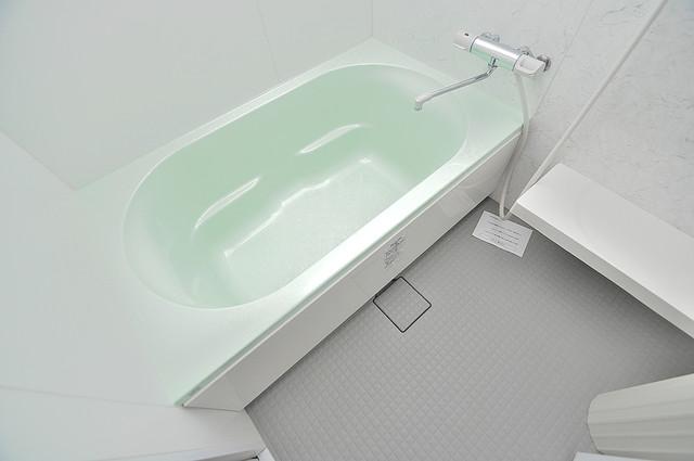 WESTRITZ巽 広めのお風呂は一日の疲れを癒してくれます。