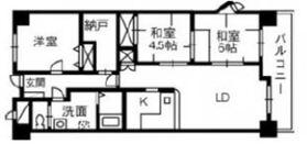 ブランシャトー4階Fの間取り画像
