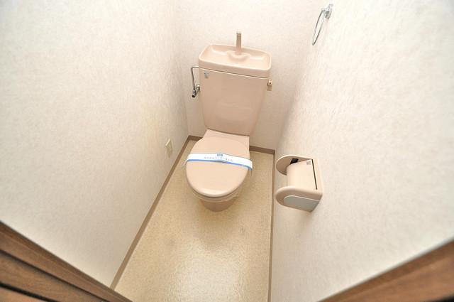 グランドゥルイ スタンダードなトイレは清潔感があって、リラックス出来ます。
