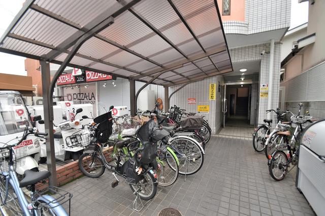 スマイルハイツ巽東 あなたの大事な自転車も安心してとめることができますね。