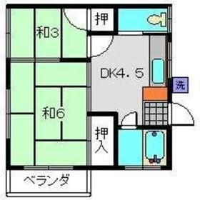 シエロ2階Fの間取り画像