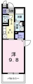 長津田駅 徒歩8分2階Fの間取り画像