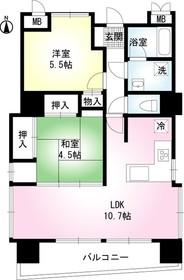 ライツ浦和別所9階Fの間取り画像