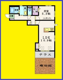 ミモザ石神井公園1階Fの間取り画像