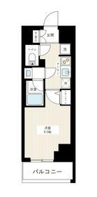 アイル横浜ノースツインズⅠ6階Fの間取り画像