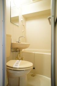 バス・トイレ同室です。