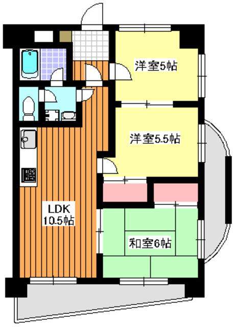 地下鉄成増駅 徒歩1分間取図