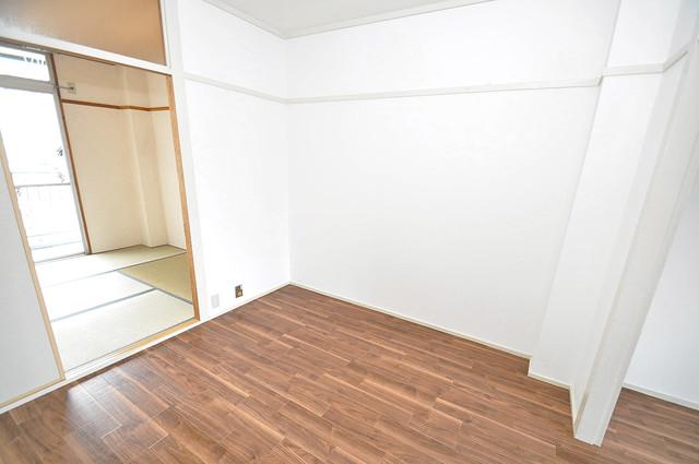 グリーンハイツ竜田 解放感たっぷりで陽当たりもとても良いそんな贅沢なお部屋です。