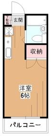 トゥーズメゾン2階Fの間取り画像