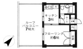 ジュア用賀5階Fの間取り画像