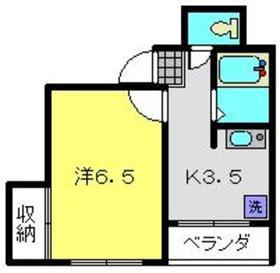 石黒ビル4階Fの間取り画像