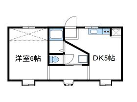 座間駅 徒歩3分2階Fの間取り画像