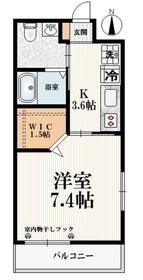 エース桜台1階Fの間取り画像
