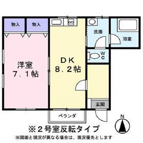 D・Cシャルマン1階Fの間取り画像
