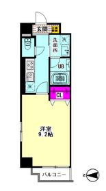 メゾン・ドゥ・クロシェット 108号室