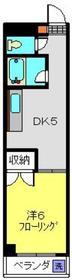 ノーブルアンドウパレス3階Fの間取り画像