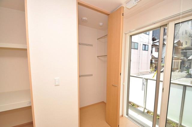 Four Seasons御厨 各所に収納があるので、お部屋がすっきり片付きますね。