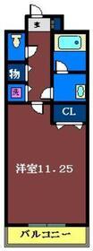 ボヌエトワール5階Fの間取り画像