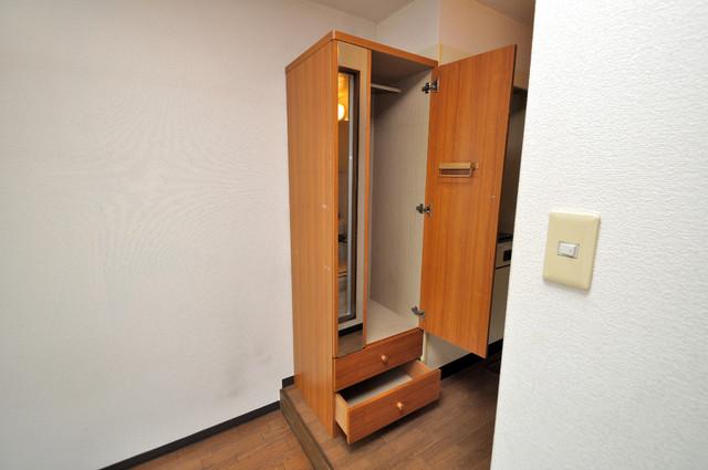 コボックス もちろん収納スペースも確保。お部屋がスッキリ片付きますね。
