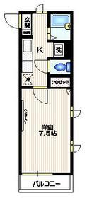 エスポワール初台3階Fの間取り画像