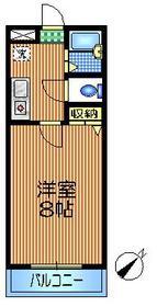 経堂駅 徒歩15分4階Fの間取り画像