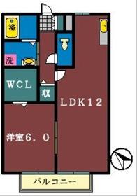 ウィンディア2階Fの間取り画像
