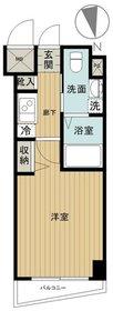グリフィン横浜・グランステージ5階Fの間取り画像