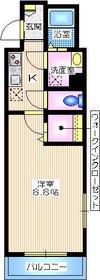 横浜ミナトハイム2階Fの間取り画像