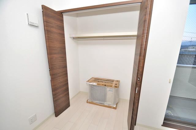 クリエオーレ南上小阪 もちろん収納スペースも確保。お部屋がスッキリ片付きますね。