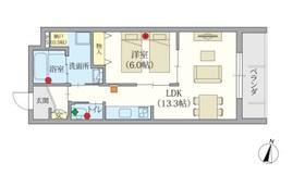 ヘーベルVillage 南大泉2階Fの間取り画像
