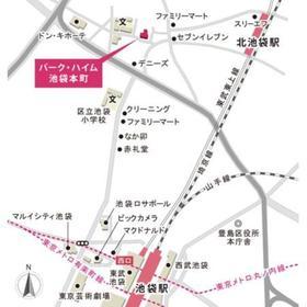 パーク・ハイム池袋本町案内図