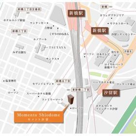 MOMENTO SHIODOME案内図