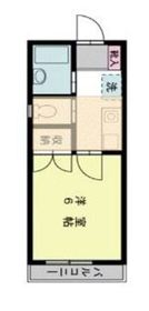 フルハウス生田2階Fの間取り画像