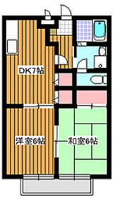 和光市駅 徒歩14分2階Fの間取り画像