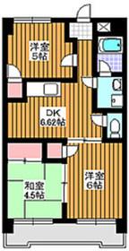 成増駅 徒歩2分5階Fの間取り画像