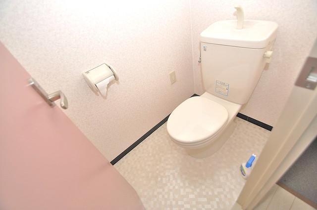 オルゴグラート長田 清潔感のある爽やかなトイレ。誰もがリラックスできる空間です。
