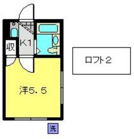 綱島駅 徒歩20分1階Fの間取り画像