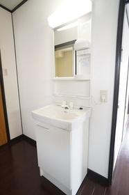 洗面化粧台です