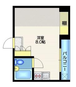 メゾンITO3階Fの間取り画像
