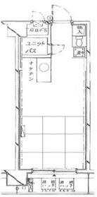 パステルコート神田岩本町8階Fの間取り画像