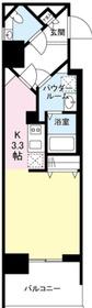 グロースメゾン新横浜5階Fの間取り画像