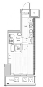 VERXEED阪東橋MAXIV5階Fの間取り画像