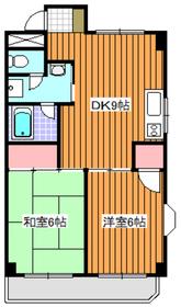 下赤塚駅 徒歩5分3階Fの間取り画像