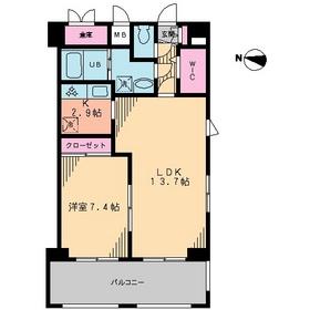 Atoll-K7階Fの間取り画像