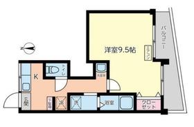 チヨダマンション3階Fの間取り画像
